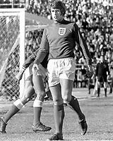Fotball<br /> Foto: Colorsport/Digitalsport<br /> NORWAY ONLY<br /> <br /> Geoff Hurst - England/West Ham United (49 caps). Greece v England (0-2), European Championship Qualifier @ Karaiskari Stadium, Pireus, Greece, 1/12/71.