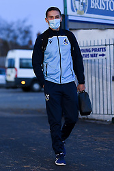 Josh Hare of Bristol Rovers arrives at Memorial Stadium prior to kick off - Mandatory by-line: Ryan Hiscott/JMP - 03/11/2020 - FOOTBALL - Memorial Stadium - Bristol, England - Bristol Rovers v Peterborough United - Sky Bet League One