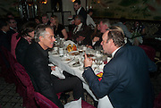 TONY BLAIR; KEVIN SPACEY; Chinese New Year dinner given by Sir David Tang. China Tang. Park Lane. London. 4 February 2013.