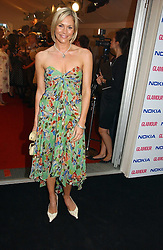 TV presenter JENNI FALCONER at the 2006 Glamour Women of the Year Awards 2006 held in Berkeley Square Gardens, London W1 on 6th June 2006.<br />