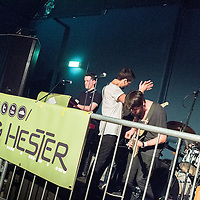 Seeing Hester  performing live at FrankFest, Jabez Clegg, Manchester, 2012-03-31