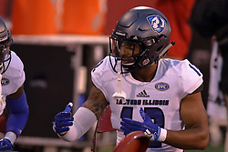 NORMAL, IL - September 08: Xzavier Shugars during 107th Mid-America Classic college football game between the ISU (Illinois State University) Redbirds and the Eastern Illinois Panthers on September 08 2018 at Hancock Stadium in Normal, IL. (Photo by Alan Look)