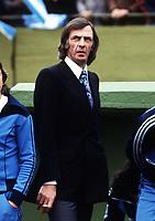 CESAR LUIS MENOTTI MANAGER<br />ARGENTINA WORLD CUP 1978 <br />ARGENTINA V HOLLAND (3-1) 25/06/1978 FINAL<br />WORLD CUP 1978<br />PHOTO ROGER PARKER FOTOSPORTS INTERNATIONAL