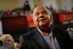 JOHANNESBURG, April 1, 2017  Pravin Gordhan, former South African finance minister, attends a memorial service for Ahmed Kathrada at Johannesburg City Hall,?South?Africa, on April 1, 2017. Ahmed Kathrada Foundation, Nelson Mandela Foundation and South African Communist Party held a memorial service for anti-apartheid stalwart Ahmed Kathrada, who died on Tuesday morning at 87. (Credit Image: © Zhai Jianlan/Xinhua via ZUMA Wire)