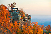 View of a bluff at White Rock Mountain in Mulberry, Ark.