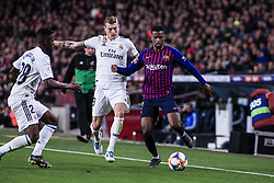 February 6, 2019 - Barcelona, Spain - during the semi-final first leg of Spanish King Cup / Copa del Rey football match between FC Barcelona and Real Madrid on 04 of February of 2019 at Camp Nou stadium in Barcelona, Spain  (Credit Image: © Xavier Bonilla/NurPhoto via ZUMA Press)