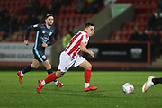 Goal scorer \Billy Waters   during the EFL Sky Bet League 2 match between Cheltenham Town and Bury at LCI Rail Stadium, Cheltenham, England on 5 March 2019.
