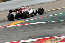 May 11, 2019 - Montmelò.Montmel&#Xf2, Catalunya, Spain - xa9; Photo4 / LaPresse.11/05/2019 Montmelo, Spain.Sport .Grand Prix Formula One Spain 2019.In the pic: Kimi Raikkonen (FIN) Alfa Romeo Racing C38 (Credit Image: © Photo4/Lapresse via ZUMA Press)
