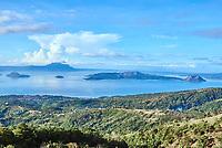 Taal Volcano in Luzon Philippines