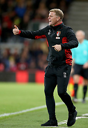 AFC Bournemouth manager Eddie Howe gestures on the touchline