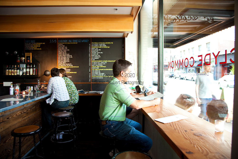 Clyde Common restaurant located next to the Ace Hotel in downtown Portland, Oregon opened in 2007 by Nate Tilden and Matt Piacentini, is a European style tavern.