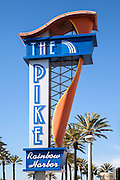 The Pike At Rainbow Harbor In Long Beach