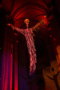 A Procession of Ghouls by Ralph Lee, at the 2017 Halloween Extravaganza at the Cathedral Church of St. John the Divine, following a screening of Lon Chaney's 1925 silent film The Phantom of the Opera.