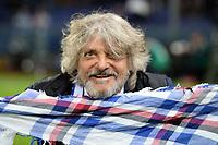 Massimo Ferrero Presidente Sampdoria <br /> Genova 08-11-2015 Stadio Marassi Football Calcio Serie A 2015/2016 Sampdoria - Fiorentina <br /> foto Image Sport/Insidefoto