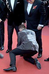 May 16, 2019 - Cannes, France - 72nd Cannes Film Festival 2019, Red Carpet film : Rocket Man.Pictured: Elton John, Taron Egerton (Credit Image: © Alberto Terenghi/IPA via ZUMA Press)