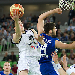 20110419: SLO, Basketball - Final 4 of NLB league, semifinals, KK Partizan vs Buducnost