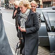 NLD/Amsterdam//20170309 - Herdenkingsdienst Guus Verstraete, Simone Kleinsma