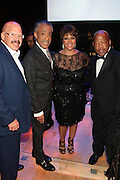 November 3, 2012- New York, NY: (L-R) Media Personality Tom Joyner, Civil Rights Activist/On-Air Personality Rev. Dr. Al Sharpton, Lindo Johnson Rice, Chairperson, Johnson Publishing Company and U.S. Congressman John Lewis at the EBONY Power 100 Gala Presented by Nationwide held at Jazz at Lincoln Center on November 3, 2012 in New York City. The EBONY Power 100 Gala Presented by Nationwide salutes the country's most influential African Americans.(Terrence Jennings) .