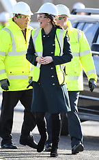 The Duke and Duchess of Cambridge visit the Northern Spire - 21 Feb 2018