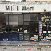 An abandoned petrol station in Thiseos Str in Kallithea district of Athens