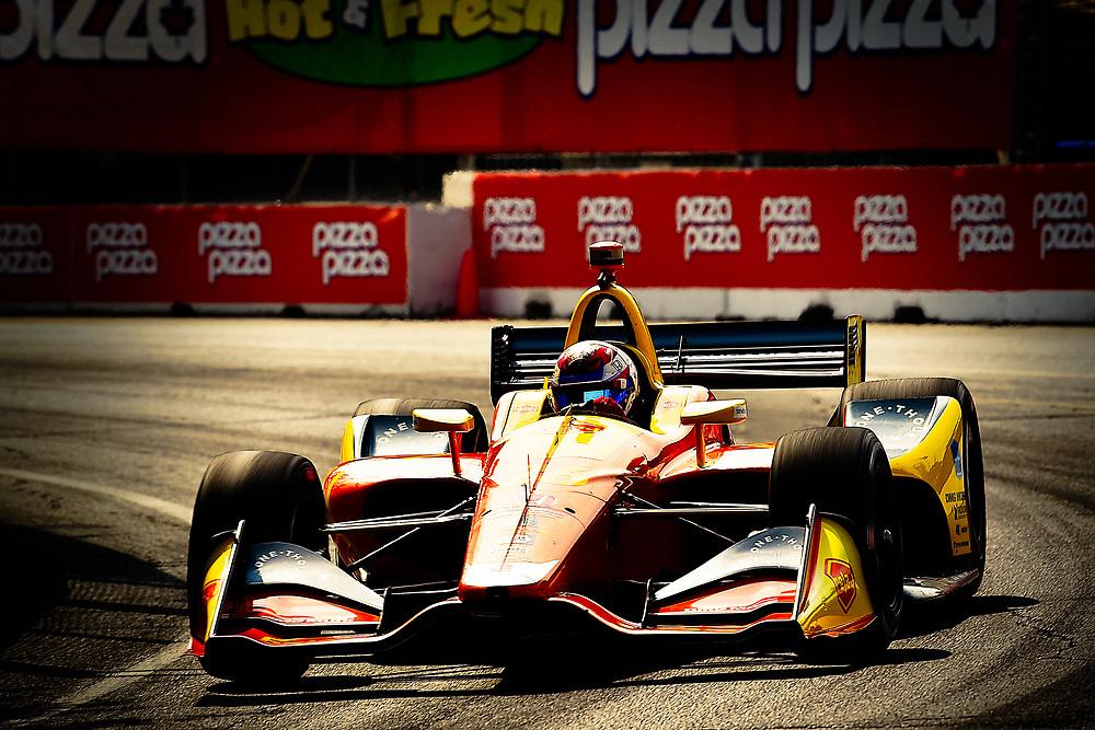 Zach Veach, Andretti Autosport Honda<br /> Saturday 14 July 2018<br /> Honda Indy Toronto<br /> Verizon IndyCar Series<br /> Streets of Toronto ON CAN<br /> World Copyright: Scott R LePage
