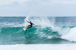 Frederico Morais (PRT) advances directly to Round 3 of the 2018 Corona Open J-Bay after winning Heat 1 of Round 1 at Supertubes, Jeffreys Bay, South Africa.