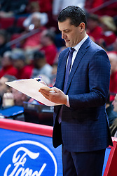 NORMAL, IL - December 31:  Ben Jacobson during a college basketball game between the ISU Redbirds and the University of Northern Iowa Panthers on December 31 2019 at Redbird Arena in Normal, IL. (Photo by Alan Look)