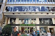 Griekenland, Athene, 5-7-2008De winkel van Marks and Spencer in het centrum van de stad.Foto: Flip Franssen