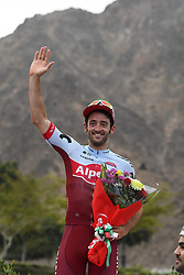 February 14, 2018 - Muscat, Oman - MUSCAT, SULTANATE OF OMAN - FEBRUARY 14 : HAAS Nathan of Team Katusha - Alpecin during stage 2 of the 9th edition of the 2018 Tour of Oman cycling race, a stage of 167.5 kms between Sultan Qaboos University and Al Bustan on February 14, 2018 in Muscat, Sultanate Of Oman, 14/02/2018 (Credit Image: © Panoramic via ZUMA Press)