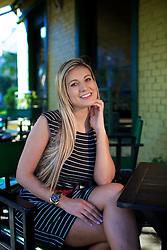 A modelo Andressa Urach, posa para fotos em um café em Porto Alegre. FOTO: Jefferson Bernardes/Preview.com