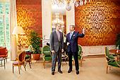Koning gaat lunchen met Spaanse koning Felipe