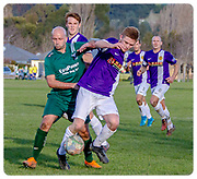 HALSWELL UNITED FC <br /> WAIMAK<br /> CCL <br /> at <br /> 20180721<br /> Photo Kevin Clarke CMG SPORT ACTION IMAGES<br /> www.cmgsport.co.nz<br /> ©cmgsport2018