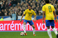 FOOTBALL - FRIENDLY GAME 2010/2011 - FRANCE v BRAZIL - 9/02/2011 - PHOTO JEAN MARIE HERVIO / DPPI - SANDRO (BRA)