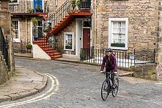 Empty Streets, Edinburgh, 5 April 2020