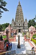 Mahabodhi Temple, Bodh Gaya, Gaya, Bihar, India