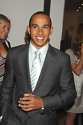 Racing driver LEWIS HAMILTON at an evening with racing driver Lewis Hamilton held at The Hempel Hotel, 31-35 Craven Hill Gardens, London W2 on 4th July 2007.<br /><br />NON EXCLUSIVE - WORLD RIGHTS