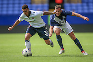 Kaiyne Woolery (Bolton Wanderers) runs with the ball during the Pre-Season Friendly match between Bolton Wanderers and Preston North End at the Macron Stadium, Bolton, England on 30 July 2016. Photo by Mark P Doherty.