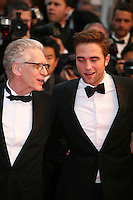 Actor Robert Pattinson and Director David Cronenberg, at the Cosmopolis gala screening at the 65th Cannes Film Festival France. Cosmopolis is directed by David Cronenberg and based on the book by writer Don Dellilo.  Friday 25th May 2012 in Cannes Film Festival, France.