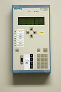 Electrical control device, at substation.