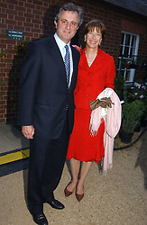 VISCOUNT & VISCOUNTESS ASTOR at the annual Cartier Flower Show Diner held at The Physics Garden, Chelsea, London on 23rd May 2005.<br /><br />NON EXCLUSIVE - WORLD RIGHTS