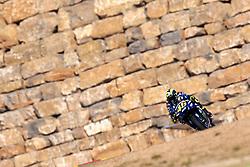 September 21, 2018 - Alcaniz, Teruel, Spain - Valentino Rossi (46) of Italy and  Movistar Yamaha MotoGP during free practice for the Gran Premio Movistar de Aragon of world championship of MotoGP at Motorland Aragon Circuit on September 21, 2018 in Alcaniz, Spain. (Credit Image: © Jose Breton/NurPhoto/ZUMA Press)