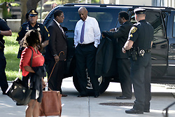 Bill Cosby arrives at the Montgomery County Courthouse for the fifth day of the sexual assault trail in Norristown, Pennsylvania, on June 9, 2017. For the second day the actor and comedian is accompanied by Joe Tory.