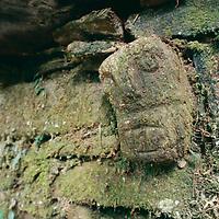 A pre-Incan (Chachapoyan) nail stone sculpture.