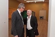 JAY JOPLING; DAMIEN HIRST;, Damien Hirst, Tate Modern: dinner. 2 April 2012.