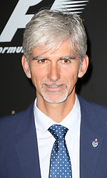 Damon Hill, F1 Party in aid of Great Ormond Street Hospital Children's Charity, Victoria and Albert Museum, London UK, 02 July 2014, Photo by Richard Goldschmidt © Licensed to London News Pictures. 03/07/2014