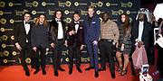 Uitreiking Gouden Televizier-Ring Gala 2018.<br /> <br /> OP de foto: Ali B, Ronnie Flex, Jim van der Zee , Willie Wartaal