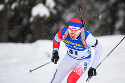 March 9, 2019 - –Stersund, Sweden - 190309 Damir Rastic of Serbia competes in the Men's 10 KM sprint during the IBU World Championships Biathlon on March 9, 2019 in Östersund..Photo: Petter Arvidson / BILDBYRÃ…N / kod PA / 92252 (Credit Image: © Petter Arvidson/Bildbyran via ZUMA Press)