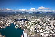 Downtown Honolulu, Oahu, Hawaii.
