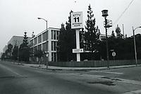 1978 KTTV Studios Metromedia Square on Sunset Blvd. & Bronson Ave.