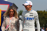 Esteban Ocon Racing Point Force India<br /> Monza 30-08-2018 GP Italia <br /> Formula 1 Championship 2018 <br /> Foto Federico Basile / Insidefoto